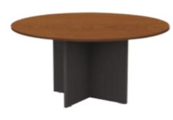 Table ronde de bureau mélaminé BANGKOK