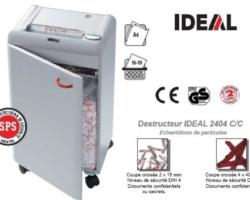 DESTRUCTEUR DE BUREAU IDEAL 2404 CC 2X15 686,00 € HT