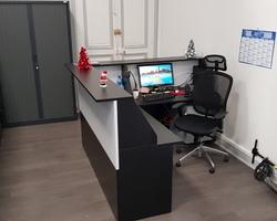 banque d'accueil fabrication européenne Gilmat Paris